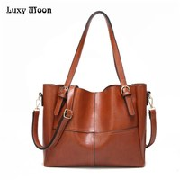 Luxy Moon Women S Bag Female PU Top Handle Shoulder Bags Ladies Handbag Messenger Bags For