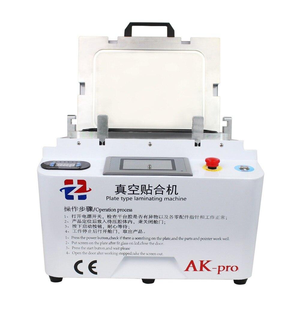 AK PRO oca laminatore A Vuoto laminazione macchina di riparazione lcd macchina refurbish oca laminatore macchina per iphone s6 edge