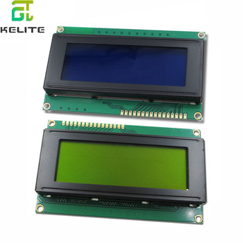 20pcs 20x4 LCD Modules 2004 LCD Module with LED Blue/Green Backlight White Character/Yellow Green