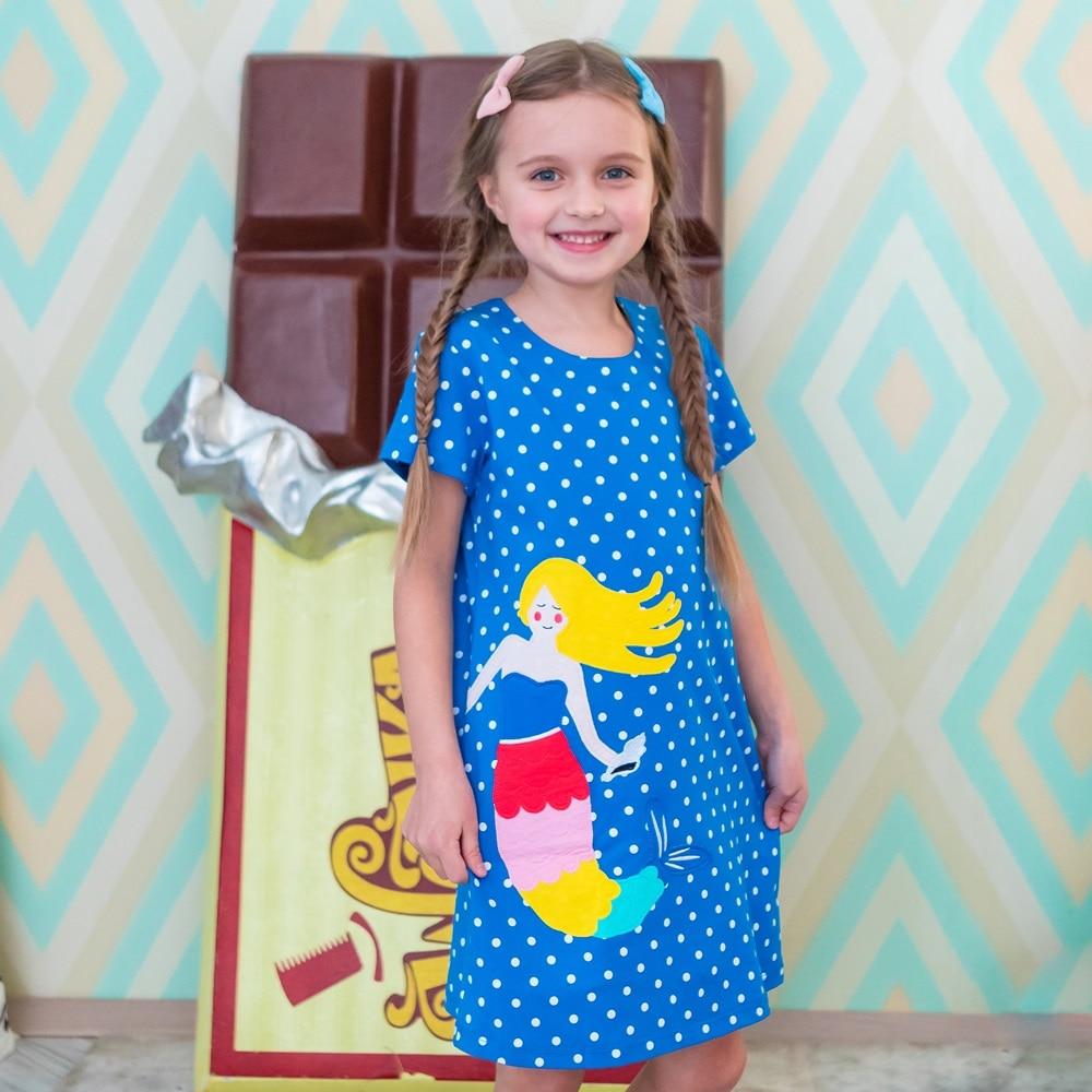 Meiteņu partijas tērpu kostīms bērniem Apģērbs 2018 Zīmola vasaras kleita Cute princese kleita ar svītrainu ziedu drukas bērnu apģērbu
