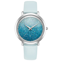 New Simple Woman Quartz Watches Ladies Fashion Watch Top Brand Luxury Female Watches Leather Waterproof Bracelet Watch Dress