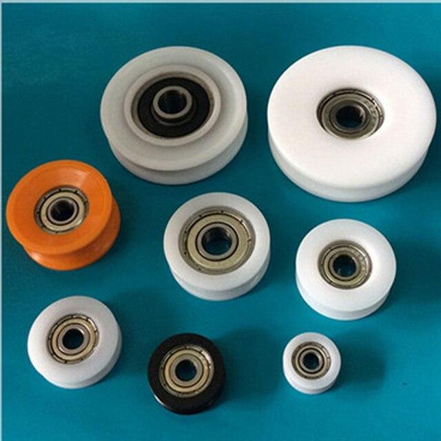 lager bohrung 6mm durchmesser 27mm 30mm kunststoff lager. Black Bedroom Furniture Sets. Home Design Ideas