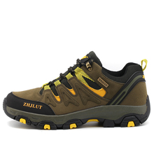 ZHJLUT Outdoor Camping Sports shoes Men's Tactical Hiking Shoes For Winter Professional Unisex Shoes Plus Size 45 46 47