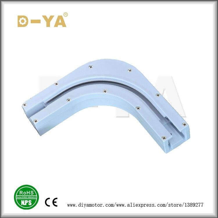 Limited Magneten Voor Gordijnen Acessorios Para Cortinas L-vormige Aluminium Tracking, Aangepaste Elektrische Gordijn Motor Polen Om Gezondheid Effectief Te Stimuleren
