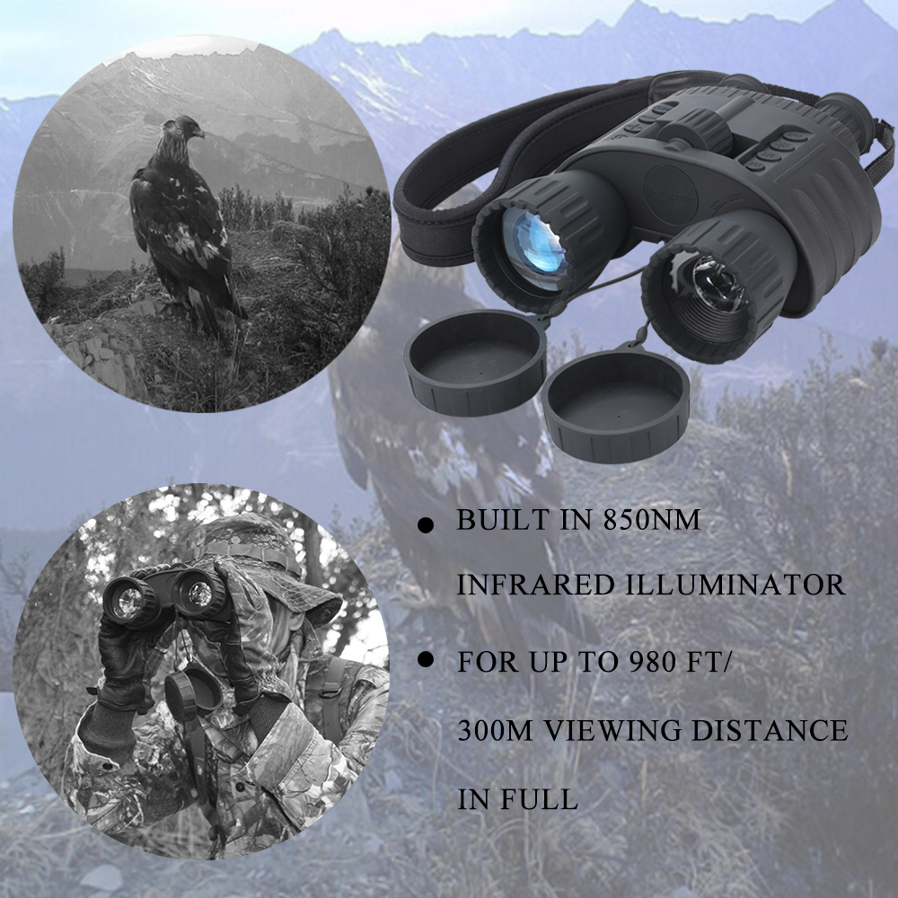 4X50mm ციფრული ღამის ხედვა - კემპინგი და ლაშქრობა - ფოტო 3