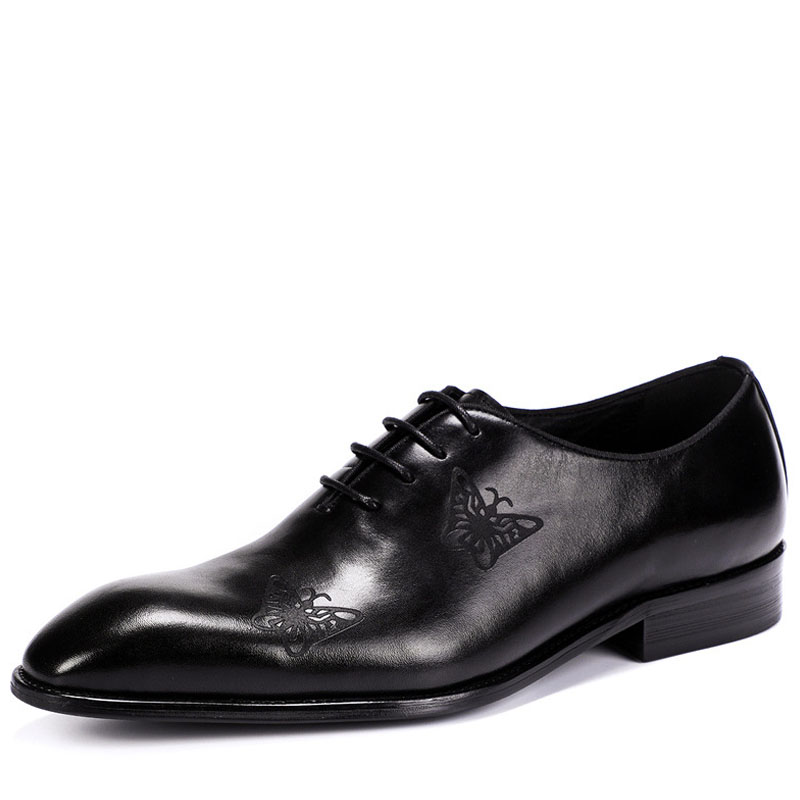 New men shoes casual 2019 Oxfords Mens Dress Shoes Genuine Leather Shoes black wedding dress schoenen heren zakelijkNew men shoes casual 2019 Oxfords Mens Dress Shoes Genuine Leather Shoes black wedding dress schoenen heren zakelijk