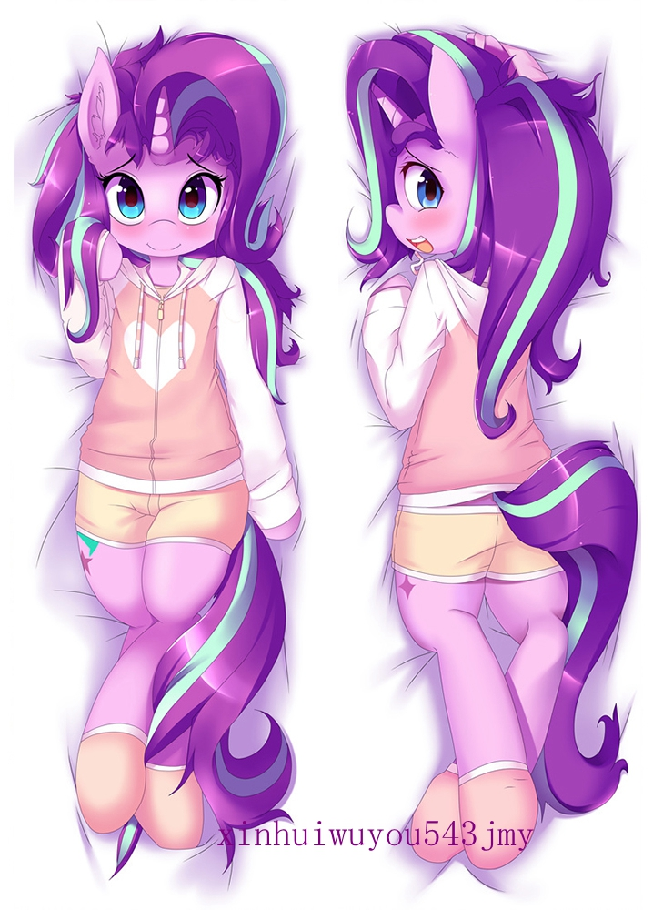 Free Shipping New Japanese Anime hugging pillow case 50X150cm 83009 My Little Pony