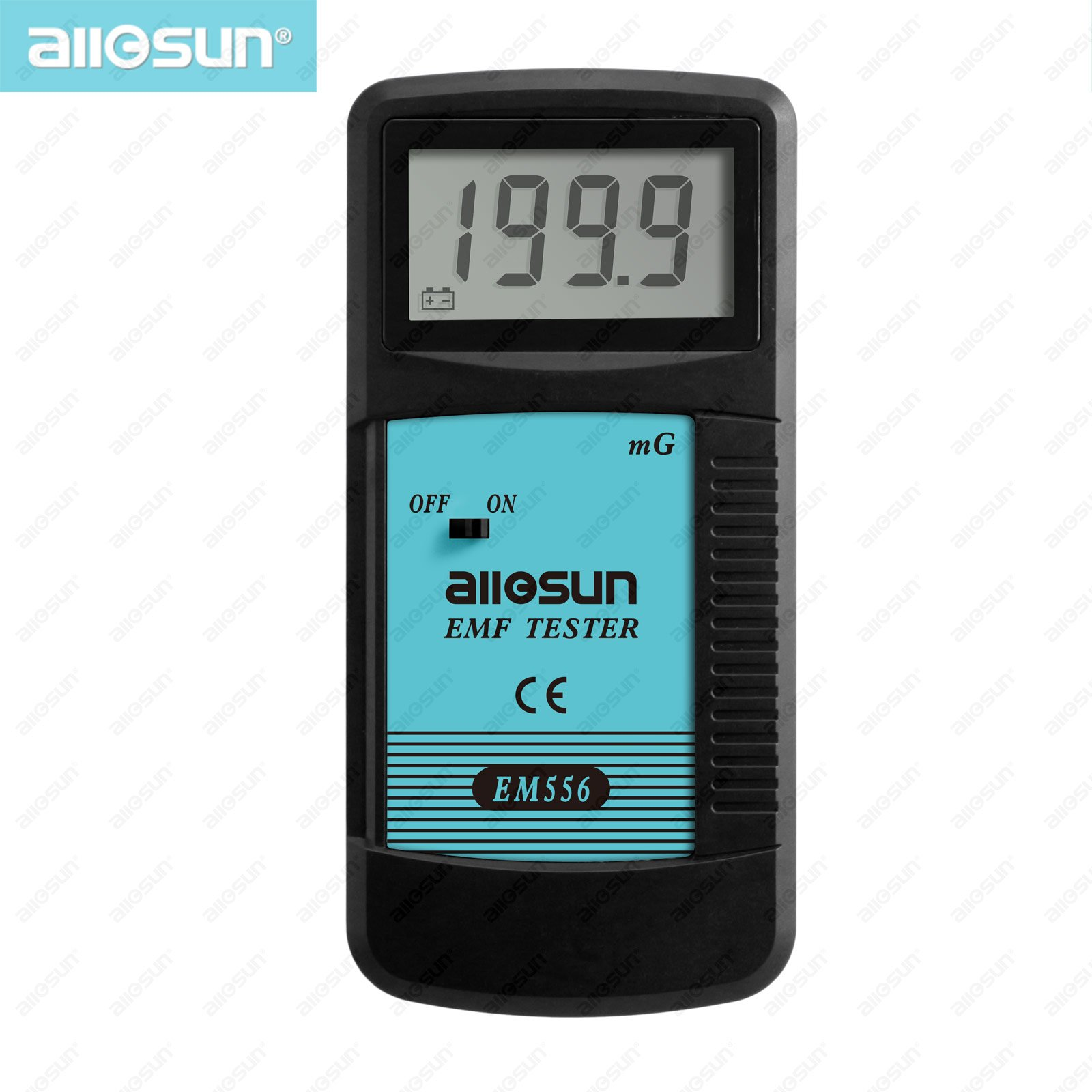 All-sun EM556 High Sensitivity EMF Tester 0.1-199.9mG 30HZ-400HZ Test the Magnitude of E ...