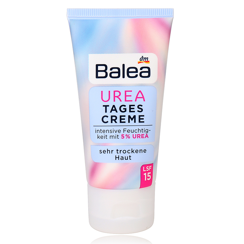 Germany Balea 5% Urea Day Face Cream 50ml for Very Dry Skin Intensive Moisture Moisturizing Face Cream Improve Skin Elasticity image