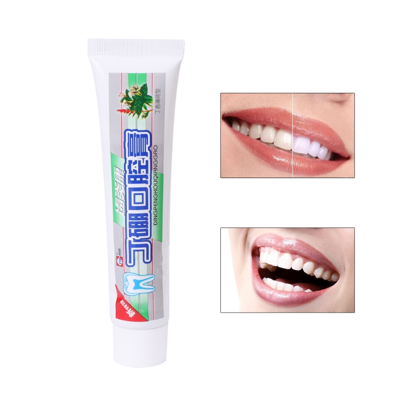 1PC Oral Toothpast Traditional Medicine Eliminate Mouth Odor Oral Toothpaste Antimicrobial Hemostasis Eliminate Mouth