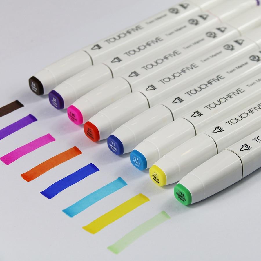 40 Colors Fashion Design Marker Pen Marker Pen White Pen Schoolpen Lipstick Aliexpress