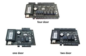 One/Two/Four Door access Controller Access Panel TCP IP and RS485  RFID reader Aided  Input and Output