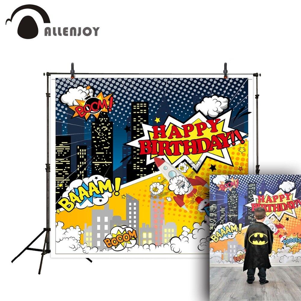 US $9 03 OFF Allenjoy Fotografi Latar Belakang Terlihat Kuning Kartun Anak Lucu Roket untuk Pemotretan Backdgrounds untuk Studio Alat Peraga di