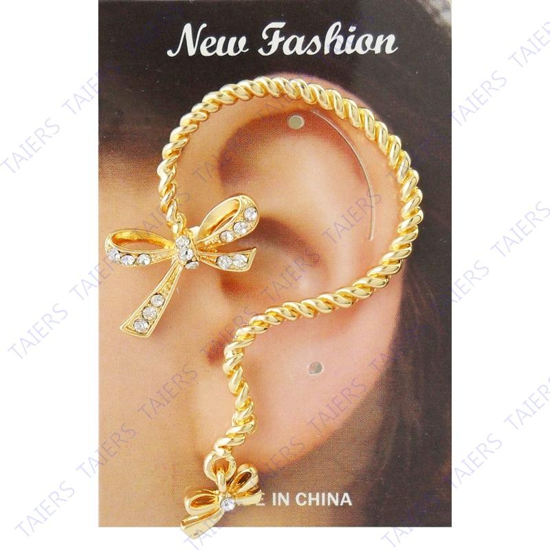 ᗛPendiente del Pun ¢ o del oído especial poste del arco joyería El ...