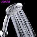 JOOE aumentar a poupança de água redonda cabeça de chuveiro de plástico ABS mão segure chuva spray de banho de chuveiro cachoeira chuveiro Acessórios Do Banheiro