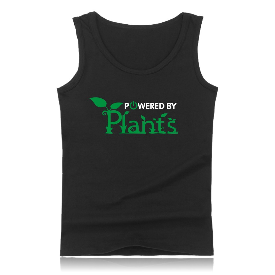 Meaningful Pattern   Tank     Top   Promote To Be Vegan   Tank     Tops   Powered By Plants Mens Interesting Clothes Vest   Tank     Tops