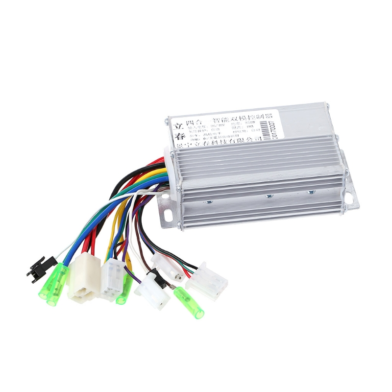 36V/48V 350W Electric Bicycle E-bike Scooter Brushless DC Motor Controller 16-18A