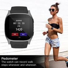 SMARCENT T8 Bluetooth Smart Watches Support SIM &TF Card With Camera Sync Call Message Smartwatch Watch For Android