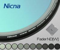 Nicna Fader ND Filter Instelbaar van ND2 om ND2-ND400 MC Pro Multi-Coated Filter Lens 58mm