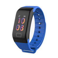 RAVI Smartband F601 Bracelet Watch With Heart Rate Blood Pressure Monitor Sport Fitness Tracker Smart Band Connect Android IOS