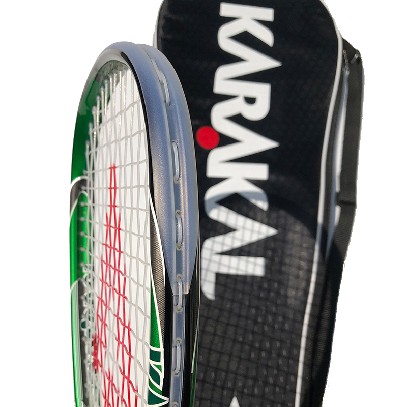 100 Carbon Fiber KARAKAL Squash Racket With Package Bag 130g Super Light SLC For Match And Training in Squash Rackets from Sports Entertainment