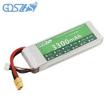 GDSZHS RC Lipo Battery 3300mAh 11.1V 3S 35C  Li-Po Battery for Quadcopter Airplane  Drone RC Helicopter