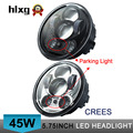 "hlxg "" 5-3/4"" 5.75 inch Harleys Motorcycle Projector Daymakers 5-3/4 inch headlight Harleys Dyan parking lights led headlights"