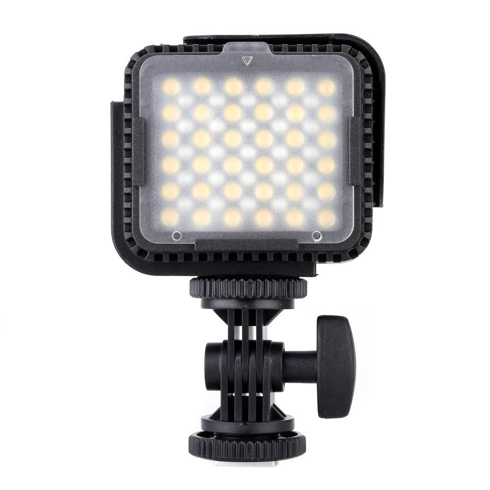 Nanguang CN LUX360 Portable 36 PCS LEDs LED Video Light Camera Photo Lamp for Canon Nikon