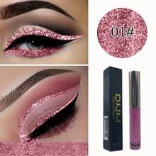 Colorful Glitter Liquid Eyeline Liquid Diamond Eyeliner Bright Shining Pearlescent Eye Liners for Women Beauty Cosmetics
