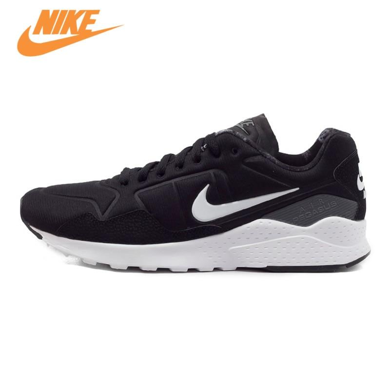 Original NIKE ZOOM PEGASUS 92 Men's Running Shoes Sneakers Trainers Black Grey Red original new arrival 2016 nike air zoom pegasus 32 men s running shoes sneakers