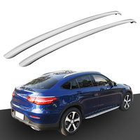 Aluminum Roof Rack Rails for Mercedes Benz GLC COUPE 2017 2018 Bar Luggage Baggage