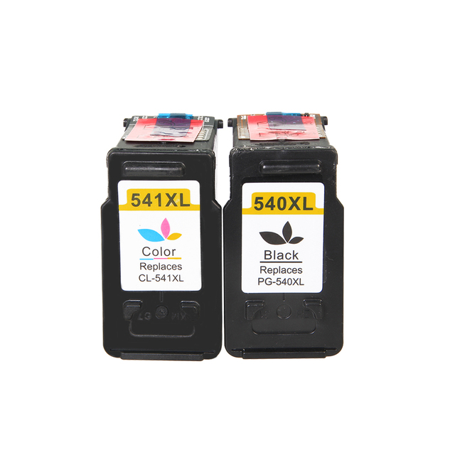 2pcs for Canon 540 541 XL PG540 CL541 ink cartridge suitable for Canon MG2150 MG2250 MG3150 MG3250 MG3550 MG4150 MG4250 MX375