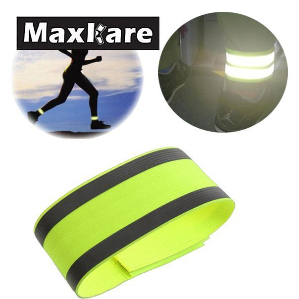 Luminous Night Reflective Safety Belt Night Run Armband For Outdoor Sports Night Running Cycling Jogging Arm Strap Arm Band цена