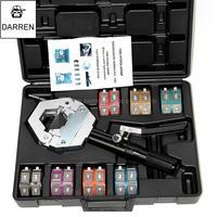1PC FS 7842 Automotive A/C Hose Crimping Tools for Repair Air Conditioner Pipes Hose Crimper Kit