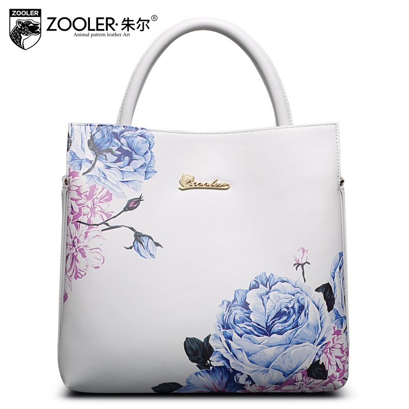 Sales 2018 New real leather Women shoulder bag Genuine leather handbag fashion ladies tote bags famous brands bolsos ZOOLER#2110 hot sale new 2017 brand handbag famous brands genuine leather bags women handbag fashion vintage bag shoulder bags portable bag