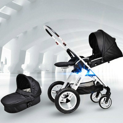 baby Stroller high landscape car  four-wheel shock buggies can sit can lie portable two-way folding