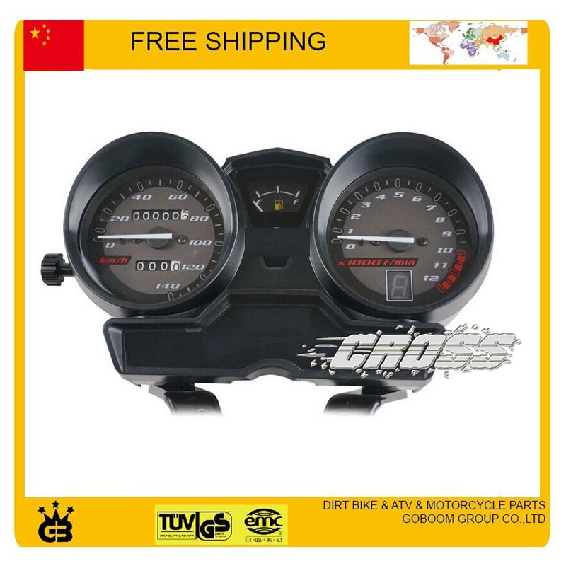 125cc мотоцикл инструмент спидометр Датчик метр YBR125 МБР YJM125 Шершень одометр спидометр бесплатная доставка