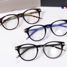 4fe19a57a44 2017 thom TB813 Round frame glasses Fashion Vintage optical frame eyewear  frames Brand oculos de grau