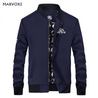Autumn Men Jacket New 2018 Baseball Hip Hop Hooded Jackets and Coats Brand AFSJEEP Slim Fit England Style High Quality