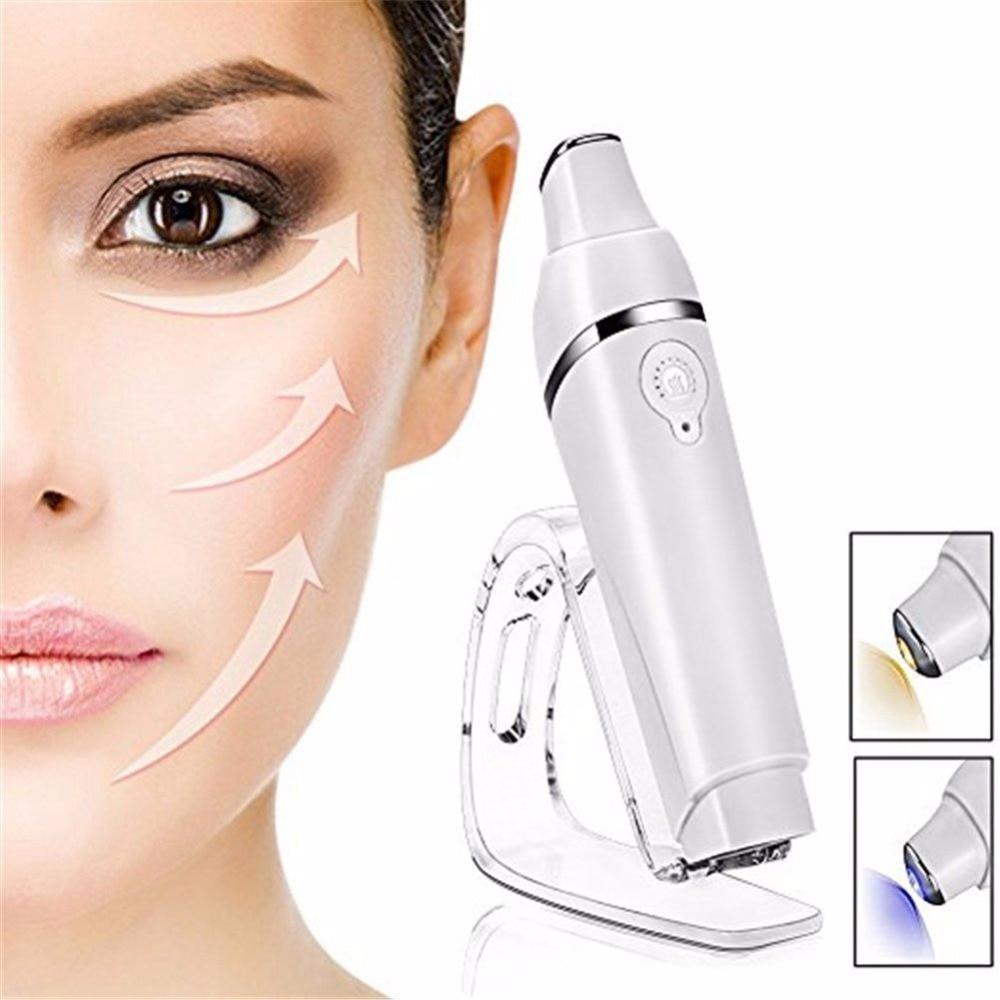 Fűtött Sonic Eye Massager pálca, vibráló masszázs Galvanikus - Bőrápolási eszközök