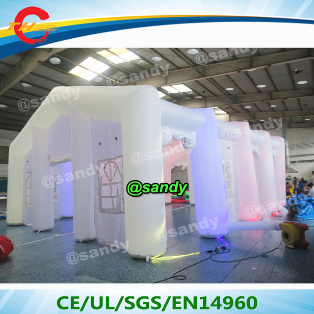Wedding With White Tent: Aliexpress.com : Buy Free Air Ship,giant Light Inflatable
