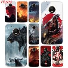 Godzilla Gojira Trend Accessories Phone Case For Motorola Moto G7 G6 G5S G5 E4 Plus G4 E5 Play Pattern Customized Coque Cover