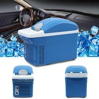 Mini Car Refrigerator Freezer Warming and Cooling Vehicle Fefrigerator 8L Portable Fridge Cooler Low Noise Long Life