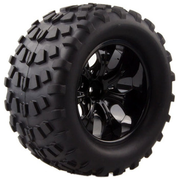2pcs Wild Monster Truck Tires Rim Wheel For 1/10 Hex Hubs 12mm Scale RC Car HSP Off Road 94111 94108 94188 Trax Tamiya HPI 2020 4pcs 2pcs 150mm wheel rim and tires for 1 8 monster truck traxxas hsp hpi e maxx savage flux racing rc car accessories hot