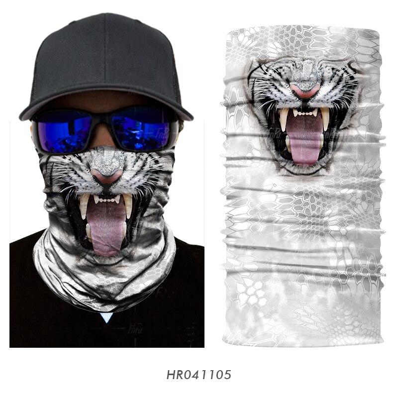 Magic Headwear Animals White Tigers Artwork Outdoor Scarf Headbands Bandana Mask Neck Gaiter Head Wrap Mask Sweatband
