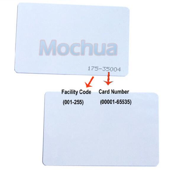 Фотография h-i-d card 1326 rfid smart card 125khz 26bit for access control format h10301