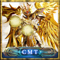 CMT Great Toys Ex Gemini Saga soul of gold Saint Seiya Metal Armor whit totem Plain Myth Cloth Gold Action Figure