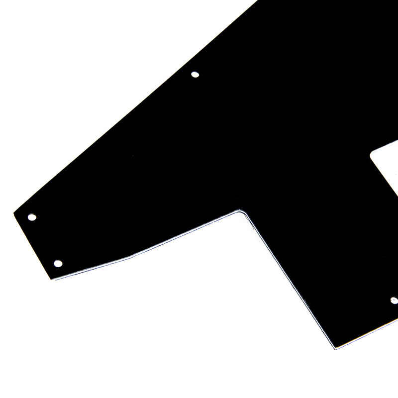 For Gibson 76 Explorer Re-Issue Guitar Pickguard Scratch Plate 3 Ply Black