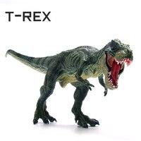 T-REX реалистичные большой динозавр фигурки героев мир Юрского периода парк Тираннозавр Рекс динозавров модель игрушки