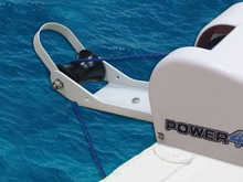 12V Electric Anchor Winch For 25LBS 11KG Anchor Saltwater White Marine Boat Yacht Pontoon